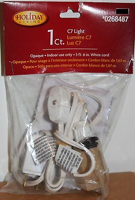 C7 LIGHT CORD Christmas Village Houses Holiday Living Decorations Indoor NEW