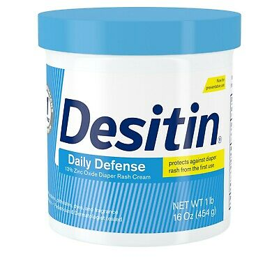 DESITIN Rapid Relief Diaper Rash Cream 16 oz