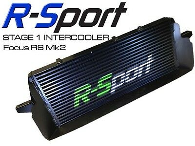 Ford Focus RS mk2 2.5T Intercooler R-Sport Stage 1 60mm Core w Air Scoop RSP017