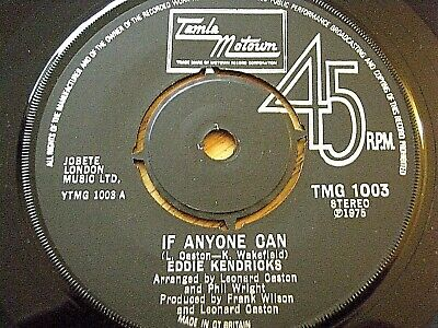 "Eddie Kendricks - If Anyone Can  7"" Vinyl"