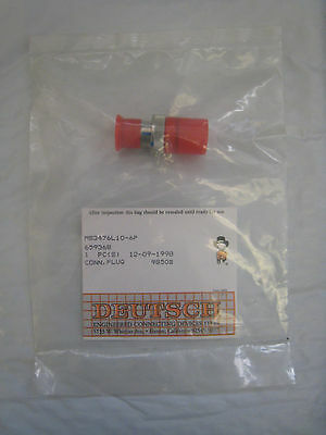 New Deutsch MS3476L10-6P Mil Spec Straight Plug Circular Connector Free Shipping