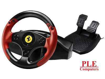 Thrustmaster Ferrari Red Legend Edition Racing Wheel for PC and PS3[4060052]
