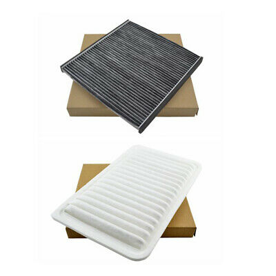 Engine & Cabin Air Filter Combo Set for Toyota Camry 2002-2006 Sienna 2004-2010