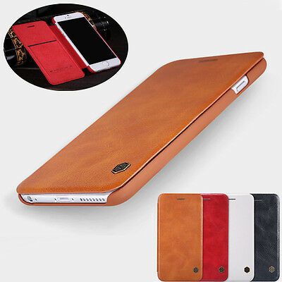 Nillkin ultra-thin Luxury Qin Flip Leather Case Cover For iPhone 6 6s 7 Plus