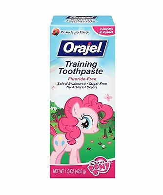 Orajel Toddler My Little Pony Training Toothpaste, Pinky Fruity 1.5 oz