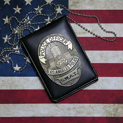 Cosplay Collection LA Police SWAT Officer Badge Card ID Cards Holder 1:1 Gift