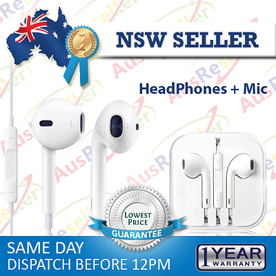 Headphone Headset Earphone Remote + Mic