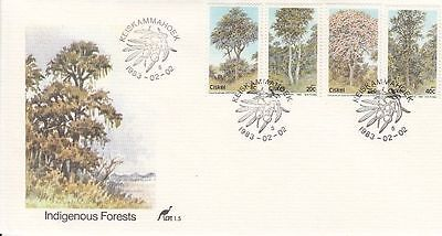 Ciskel 1983 Indigenous Forests FDC
