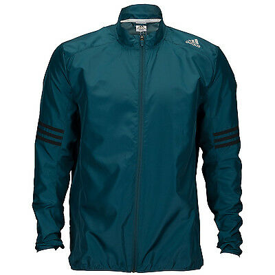 Adidas Response Wind Mens Waterproof Windproof Running Training Sports Jacket -