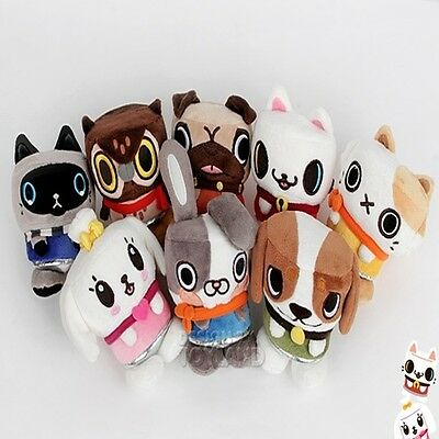 CANIMALS CHARACTER DOLL 4.7in, 6.2in, 7.8in ATO MIMI OZ NIA FIZZY ULY TOKI POW