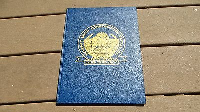 USNCB US Navy Seabees 76th Naval Construction Battalion Unit History Book