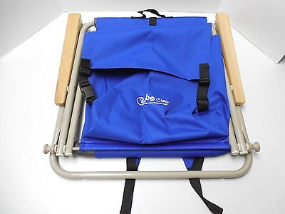 Combo Chair The All-In-One Backpack Chair Blue