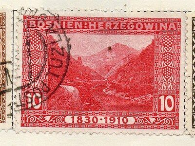 Bosnia Herzegovina 1910 Early Issue Fine Used 10h.