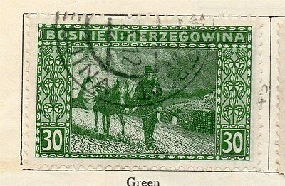 Bosnia Herzegovina 1906 Early Issue Fine Used 30h.