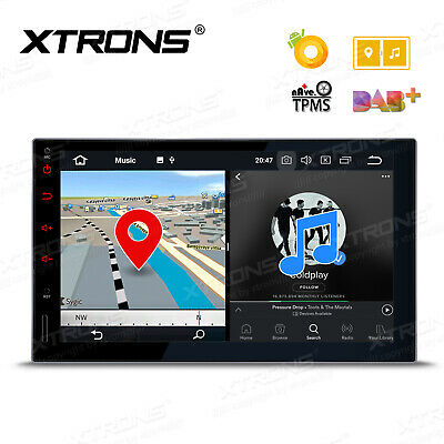 360°Camera Dash Radio GPS Single DIN Flip Out 7 inch Touch UI DVD CD Car Stereo