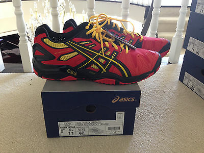 Asics Gel Resolution 5 - Red/Yellow/Black - Size 11