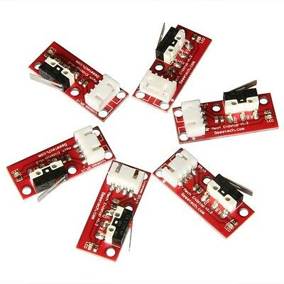6pcs Mechanical Endstops V1.2 with 4-pin Jumper cables for 3D Printer Prusa