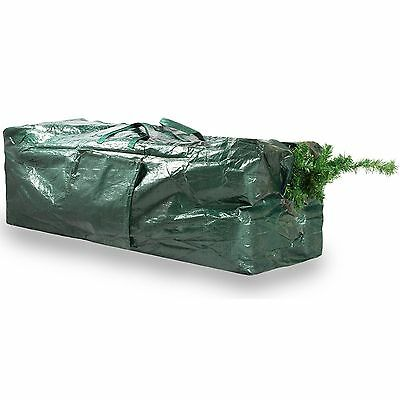 9ft Christmas Tree Storage Bag Zip Up Sack Storage with Pocket & Carry Handles