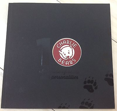 New **COLLECTABLE CHARLIE BEARS 10th ANNIVERSARY COLLECTION CATALOGUE PART 2**