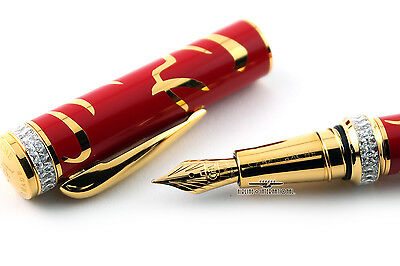Caran d'Ache Limited Edition Return To Hong Kong Fountain Pen - (M)