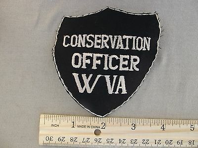 West Virginia Conservation Officer Police Patch Obsolete