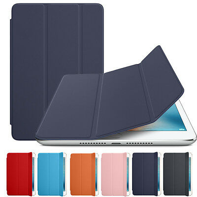 Luxury Slim Magnetic Leather Smart Cover Sleep Case For iPad mini 4