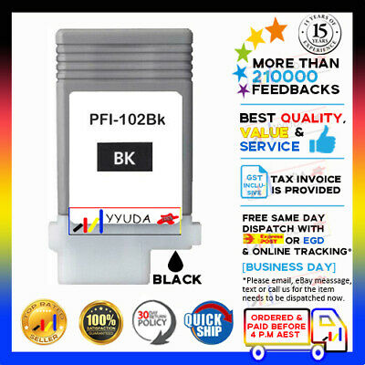 Any 1 Compatible Ink Cartridges for Canon PF-102 IPF-605 IPF-610 IPF-700 Printer