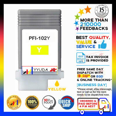 ANY 1x Compatible Ink Cartridges for Canon PF-102 IPF-500 IPF-510 IPF-600