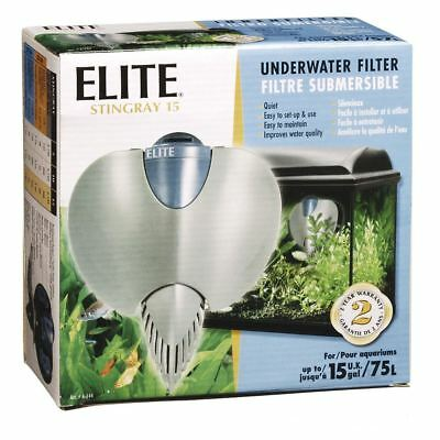 Hagen Elite Stingray 15 Underwater Aquarium Filter 75L A144