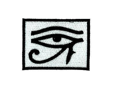 Patch patches backpack embroidered iron sew on badge eye of horus biker ref2