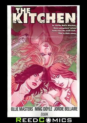 KITCHEN GRAPHIC NOVEL New Paperback Collects 8 Part Series