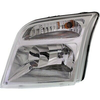 Headlight For 2010 2011 2012 2013 Ford Transit Connect Left With Bulb