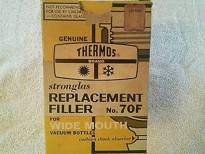Vintage Thermos Bottle Replacement Filler No 70 f. New In Box