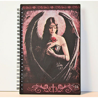 Angel Rose JOURNAL book by Anne Stokes Hard Cover with Gift Box 14x21cm