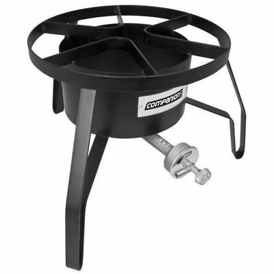 Mega-Jet LPG Outdoor Power Cooker Stove for camping.