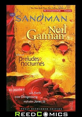 SANDMAN VOLUME 1 PRELUDES & NOCTURNES GRAPHIC NOVEL New Paperback Collects #1-8