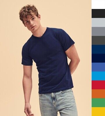 5er Pack Herren T-Shirt V-Ausschnitt * FRUIT OF THE LOOM V-Neck-Tee 61-066-0 NEU