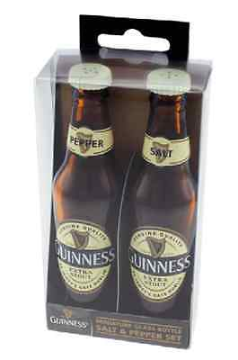 Birra Guinness Set 2 bottiglie in miniatura porta Sale e Pepe