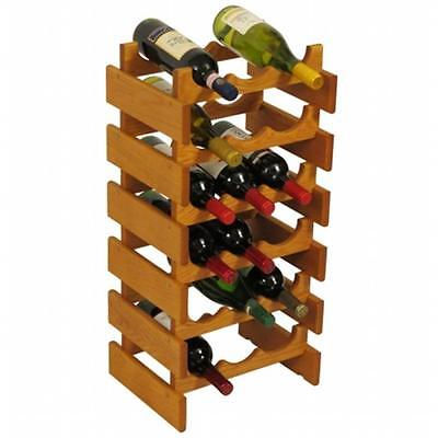 Wooden Mallet WR36MO 18 Bottle Dakota Wine Rack