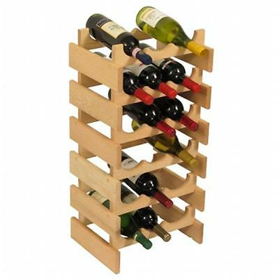 Wooden Mallet WR36UN 18 Bottle Dakota Wine Rack
