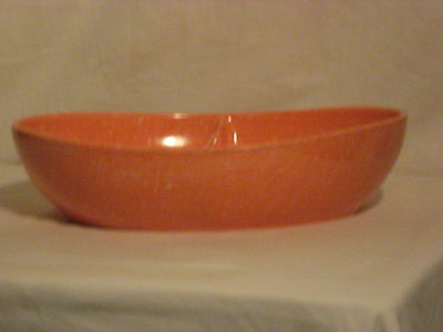 Texas Ware Type Spatter Divided Vegetable Dish