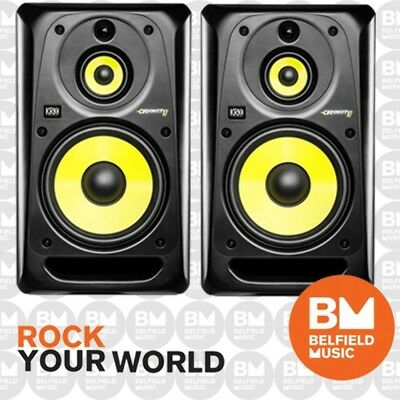 2 x KRK Rokit 10 G3 3 Way Active Powered Monitor Studio Speaker PAIR RP103G3