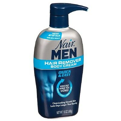 Nair For Men Hair Removal Body Cream 13 oz