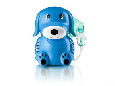 Inhalateur inhalation enfants Blue Puppy en forme de chien traitements médical
