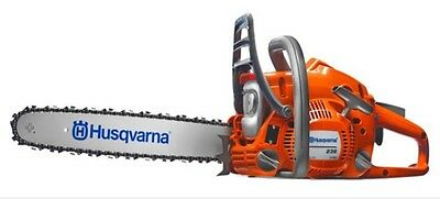 "Husqvarna 236 14"" Bar And Chain Chainsaw Husqvarna Agent UK 2 Year WARRANTY !!"