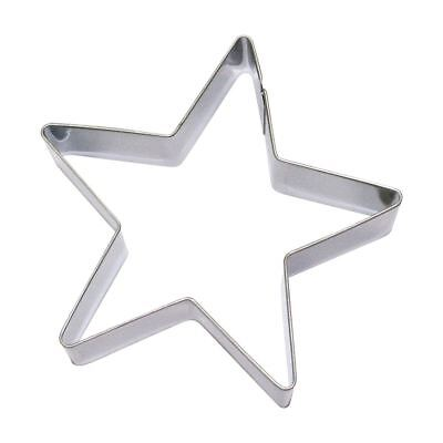 Eddingtons 5-point Star Cookie Cutter - Christmas Pastry & Biscuit Cutter - 7cm