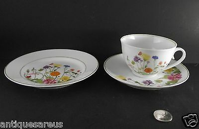 Denby Wonderland Portugal  Trio Tea Cup, Saucer And Bread Butter Plate