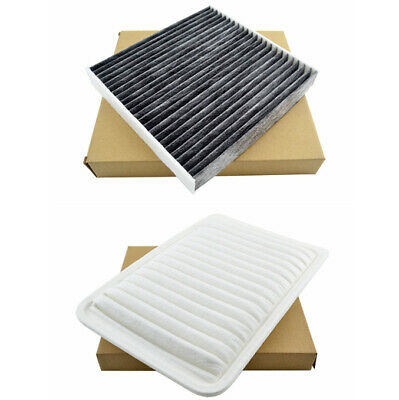 Combo Set Engine & Cabin A/C Cabin Air Filter for 07-16 Toyota Camry 09-16 Venza