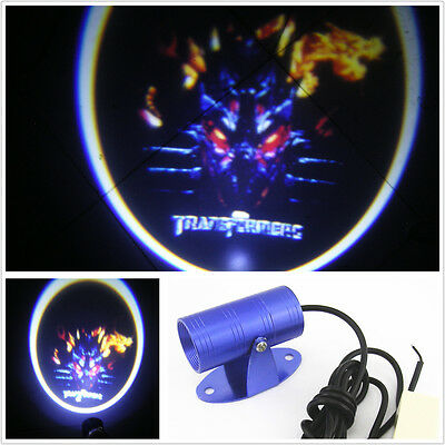 Motorcycle Ghost Shadow Projector Transformers Logo LED Laser Light For Harley