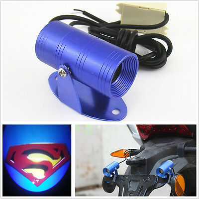Motorcycle Bike Ghost Superman Shadow Laser Projector LED Light For Kawasaki New